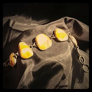 Natural Petrified  Bracelet